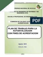 Plan de Autoevaluacion Escuela Ing. Civil