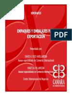 Seminario de Empaques y Embalajes Para Exportacion