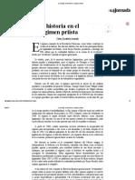Pedro Salmerón - La historia en el régimen priísta