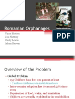 romanian orphanges