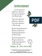 St Patricks Day Song