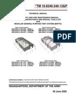 TM-10-8340-240-12&P MGPTS Tent Manual-2005