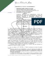 CONFLITO DE COMPETÊNCIA Nº 122.512