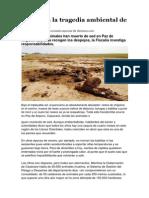 Un día en la tragedia ambiental de Casanare