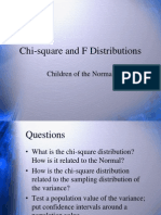 7 Chi-Square and F