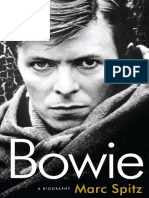 Bowie by Mark Spitz - Excerpt