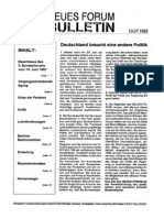 1992-07 Neues Forum Bulletin 15