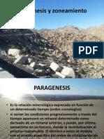 Paragénesis y zoneamiento