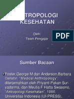 Antropologi Kesehatan Bab 1 Foster Anderson