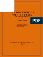 Grimm, George - Doctrine of the Buddha (564p)