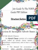 TOEFL - Structure 5.0