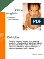 Hipotiroidismo congénito