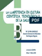 Competencia en La Cultura Cientifica