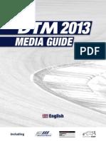 2013 DTM Media Guide (English)