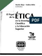 3-Aluja, Panorama Principios Eticos