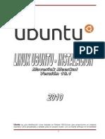 Manual de Instalación Ubuntu10.1