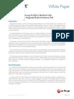 Reducing Risk to Backhaul Links WP-104316