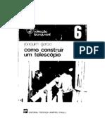 Joaquim Garcia - Como Construir um Telescópio