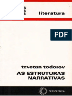As Estruturas Narrativas - ToDOROV, Tzvetan