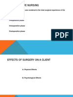 Perioperative Nursing Lecture Ppt