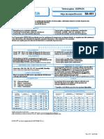 Catalogo Termocoples- SA