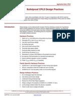 Bulletproof CPLD Design Practices xapp784