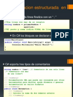 Programacion Estructurada en C#