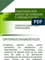 Trastorno Por Deficit de Atencion e Hiperactividad