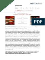 press release peregrination of colour