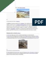 Historia de la minería