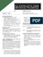 Sulfatoferrico Ficha Tecnica