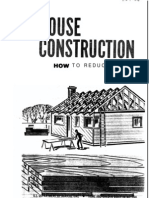 House Construction - How to Reduce the Cost