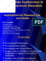 System Wide Dysfunction in Autism Spectrum- Implications for all Planetary Life and Health
