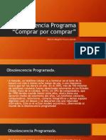 Obsolescencia Programa