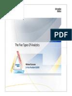 Four Types of Analytics