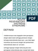 Acute Respiratory Distress Syndrome -Ftrz