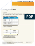 Ati Corrosion Resistant Titanium Alloys Tds En4 v1