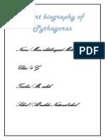 Short Biography of Pythagoras