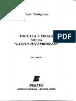 Paolo Tortiglione - Toccata per Organo