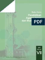 Buku Pendidikan Agama Islam untuk siswa kelas 7 SMP