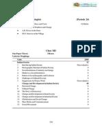 CBSE Class 12 Syllabus for Sociology 2013-2014