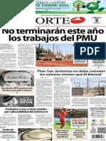 Periódico Norte de Ciudad Juárez edición impresa del 9 abril del 2014