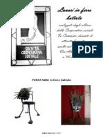 catalogo Laboratorio formativo Via Frosini Pistoia  Cooperativa sociale In Cammino - aprile 2014