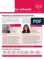 Cambridge  Newsletter May 2013