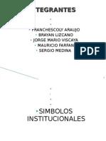 Presentacion de Simbolos Institucionales y Clasisfacacion de Los Sectores cos