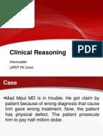 Kuliah Clinical Reasoning