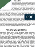 Memori(RAM)