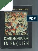 Complementation in English - Alexandra Cornilescu Part 1