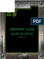 Warhammer Datasheets