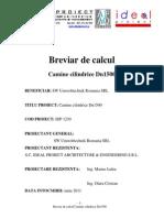 0=-Breviar de Calcul Camin DN1500